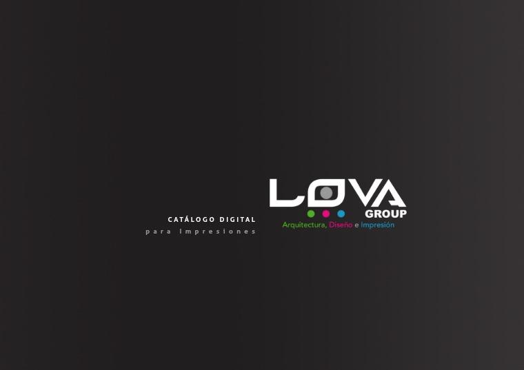 Catálogo de Impresiónes Lova Group