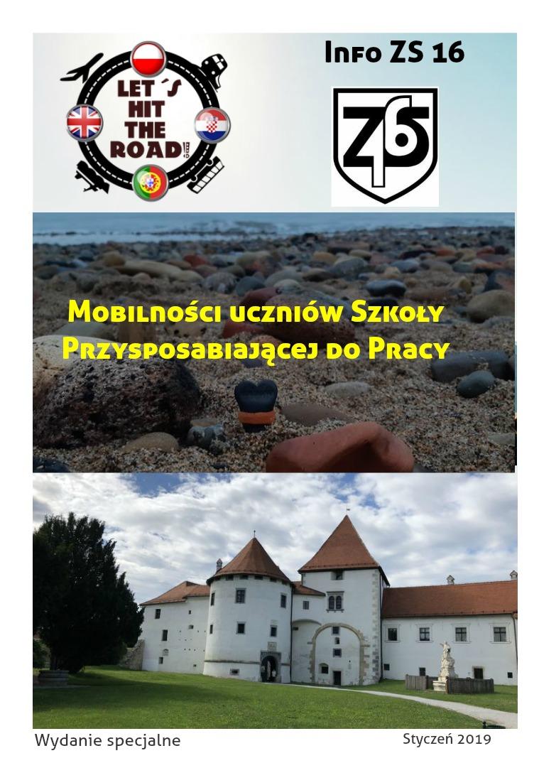 Info ZS16 Mobilności Erasmus+ Styczeń 2019