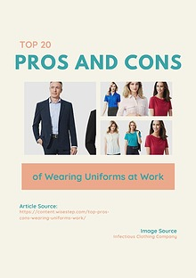 Top 20 Pros and Cons of Wearing Uniforms at Work