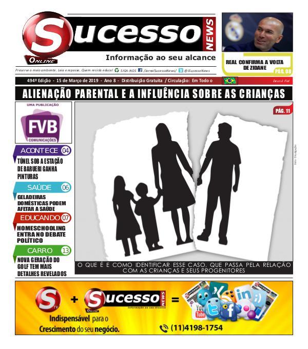 Jornal Sucesso News Jornal Sucesso News - Edição - 494 ONLINE