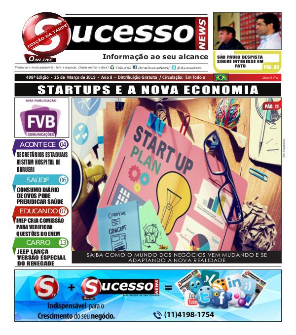 Jornal Sucesso News Jornal Sucesso News - Edição - 498 ONLINE