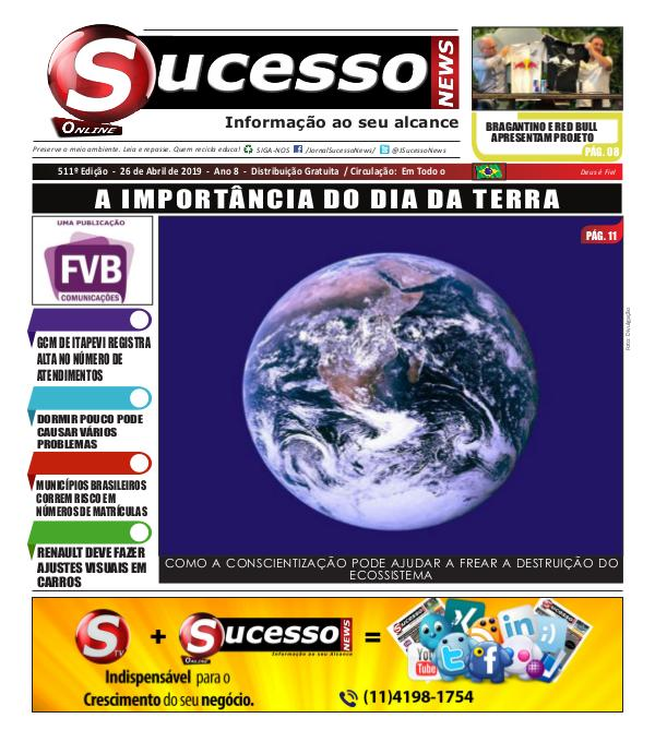 Jornal Sucesso News Jornal Sucesso News - Edição - 511 ONLINE