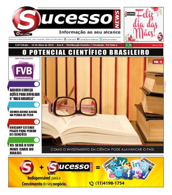 Jornal Sucesso News Jornal Sucesso News - Edição - 516 ONLINE