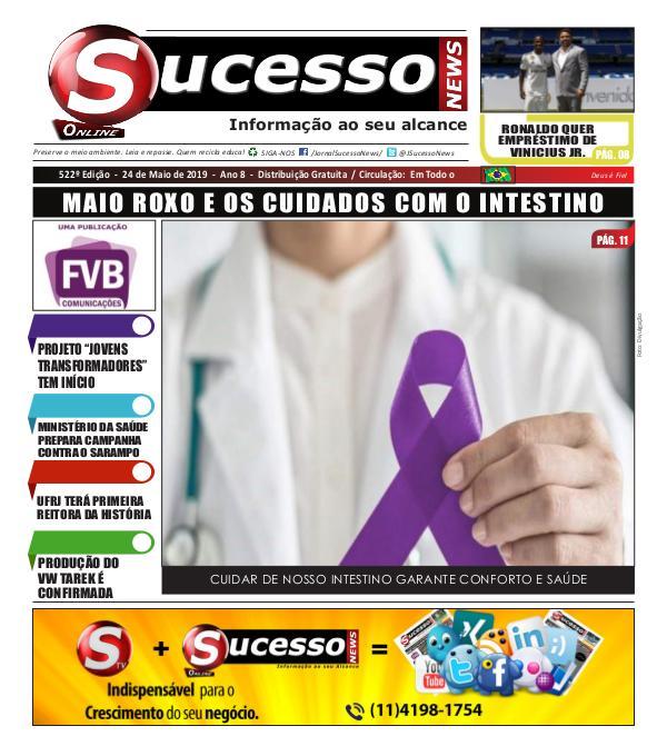 Jornal Sucesso News Jornal Sucesso News - Edição - 522 ONLINE