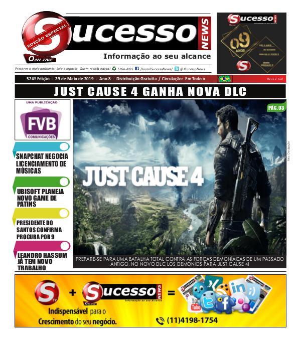 Jornal Sucesso News Jornal Sucesso News - Edição - 524 ONLINE