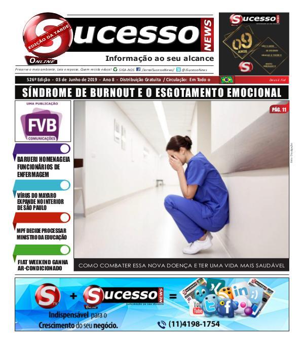 Jornal Sucesso News Jornal Sucesso News - Edição - 526 ONLINE