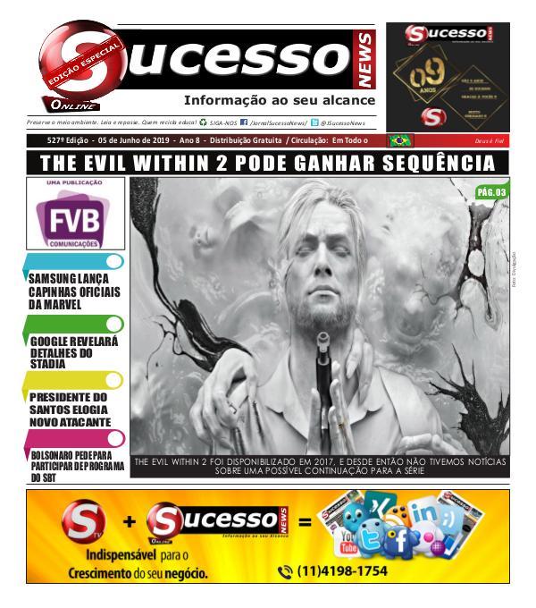 Jornal Sucesso News Jornal Sucesso News - Edição - 527 ONLINE