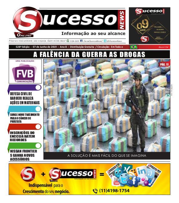 Jornal Sucesso News Jornal Sucesso News - Edição - 528 ONLINE