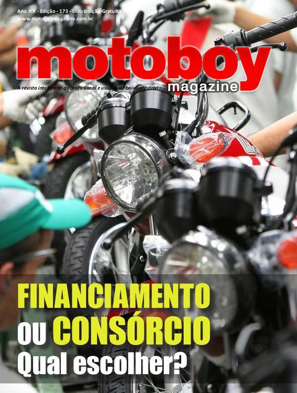 Motoboy Magazine Edição 173 Motoboy Magazine Edição 173