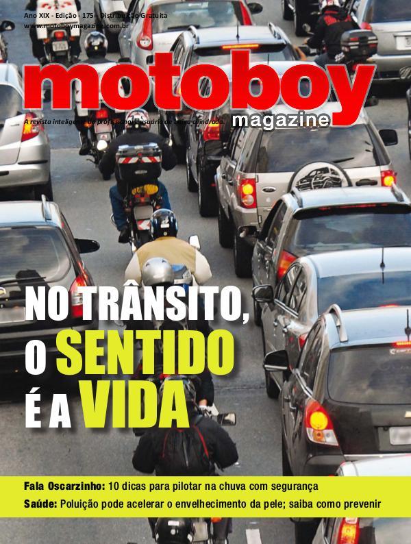 Motoboy Magazine Edição 175 Motoboy Magazine Edição 175