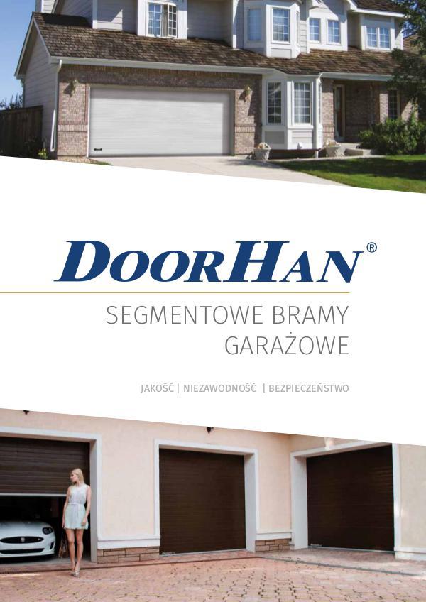 Bramy garazowe segmentowe DoorHan Katalog 2016