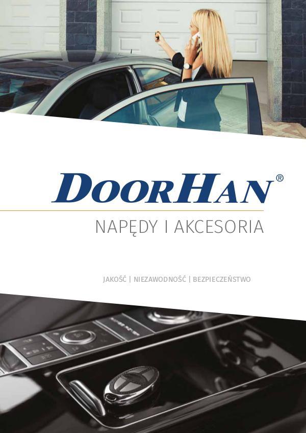 Napedy do bram i akcesoria DoorHan Katalog 2016
