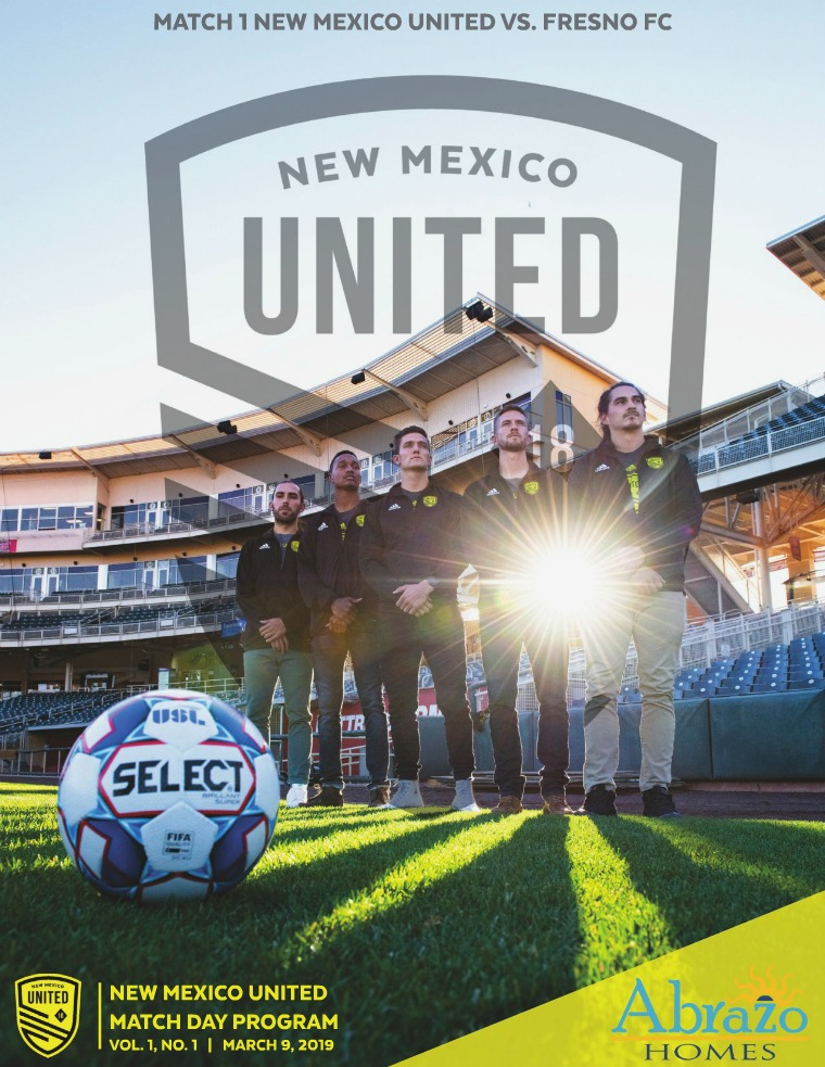 New Mexico United Digital Program 1