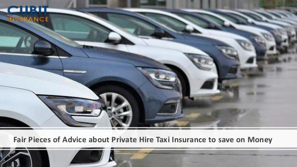 Fair Pieces of Advice about Private Hire Taxi Insu
