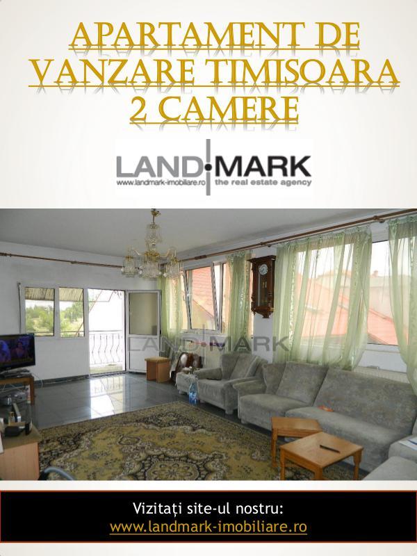 Landmark Imobiliare Apartament De Vanzare Timisoara 2 Camere