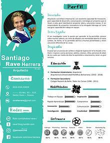"Diseño Hoja De Vida ""Rave"" :) :)"