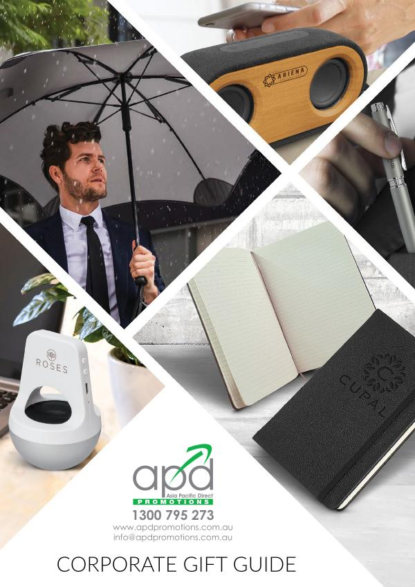 APD Promotions Corporate Gift Guide 2020 October 2020 Edition
