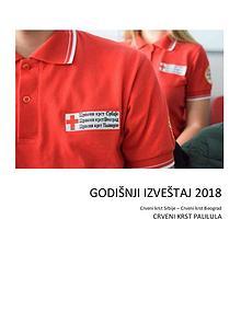 Crveni krst Palilula-godišnji izveštaj 2018
