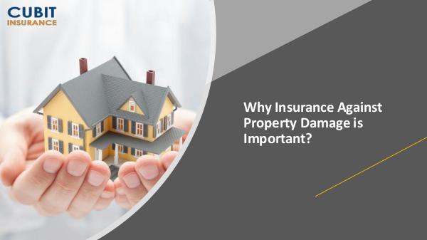 Why Insurance Against Property Damage is Important Why Insurance Against Property Damage is Important