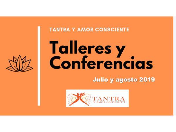 Talleres tantra agosto 2019 Talleres tantra de julio agosto 2019