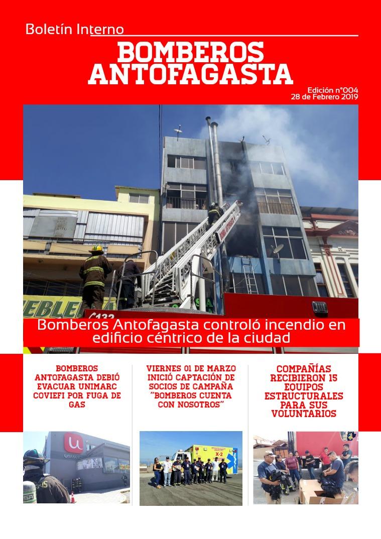 Boletín 002/2019 Boletín 004/2019