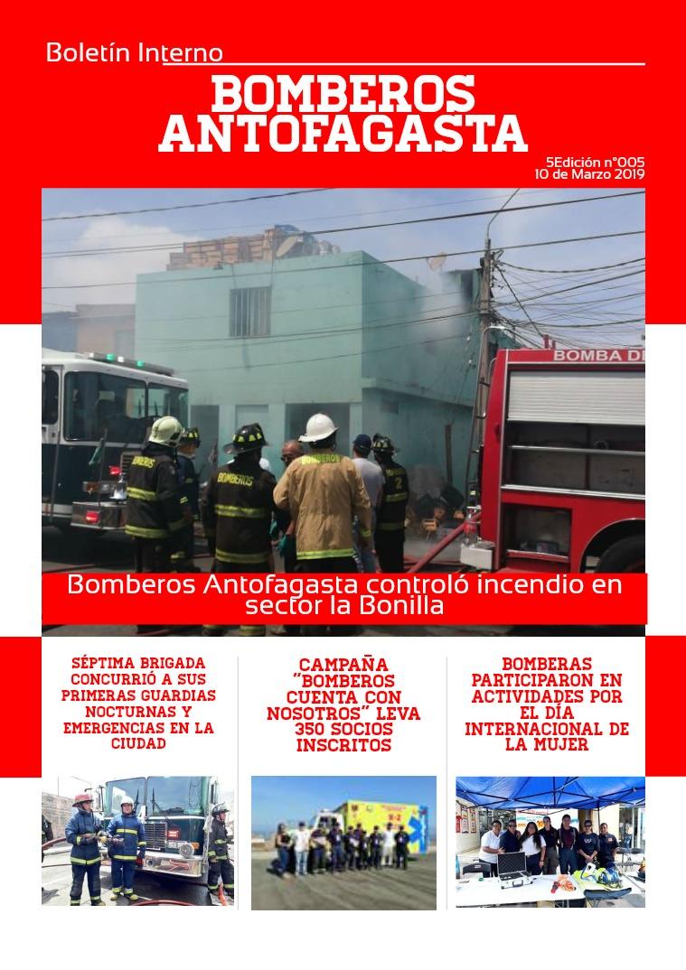 Boletín 002/2019 Boletín 005/2019