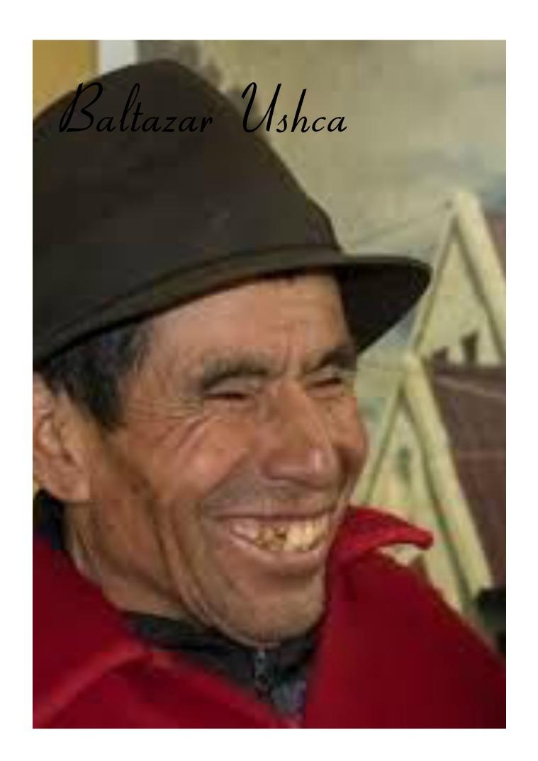 Baltazar Usha El hielo del Chimborazo tiene un nombre: Baltazar
