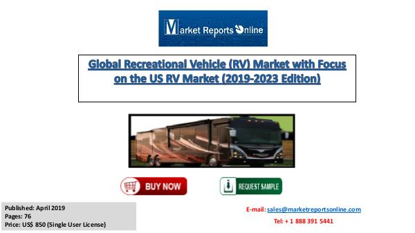 2019-2023 Global Recreational Vehicle Market Analysis Forecast April 2019