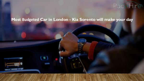 How can you protect yourself as a PCO car driver? Most Budgeted Car in London - Kia Sorento will mak
