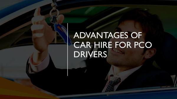 How can you protect yourself as a PCO car driver? Advantages Of Car Hire For PCO Drivers