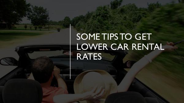 How can you protect yourself as a PCO car driver? Some Tips to Get Lower Car Rental Rates