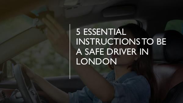 How can you protect yourself as a PCO car driver? 5 Essential Instructions to Be a Safe Driver in Lo