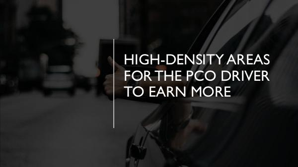 How can you protect yourself as a PCO car driver? High-Density Areas for the PCO Driver to Earn More