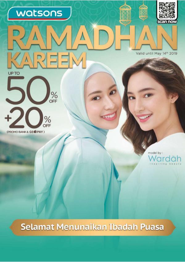 WATSONS Mailer Ramadhan WATSONS INDONESIA Mailer Ramadhan