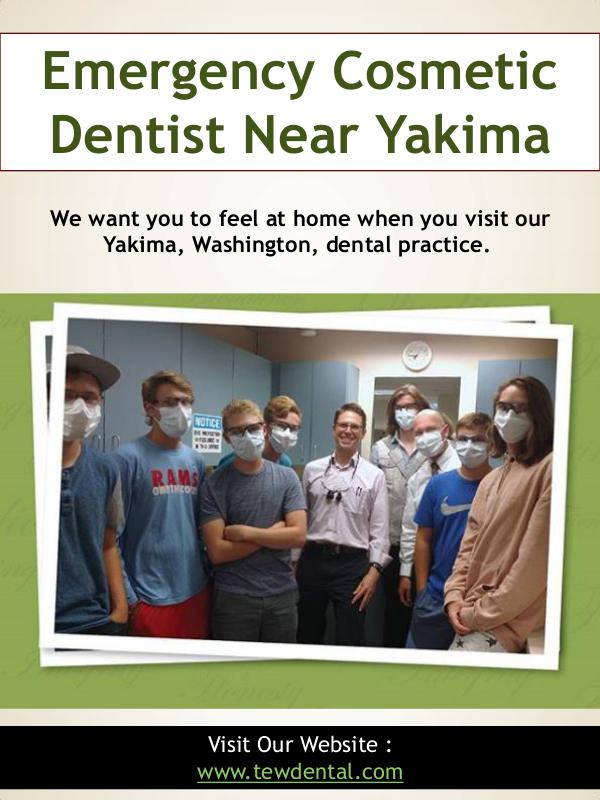 Cosmetic Dentist Yakima | 509728932 | tewdental.com Emergency Cosmetic Dentist Near Yakima | 509728932
