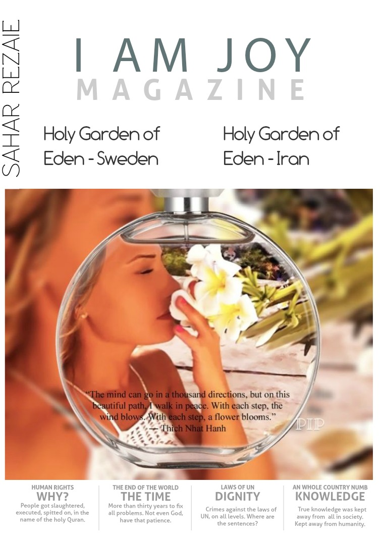 I AM JOY - INSPIRATION AND MOTIVATION Holy Garden of Eden