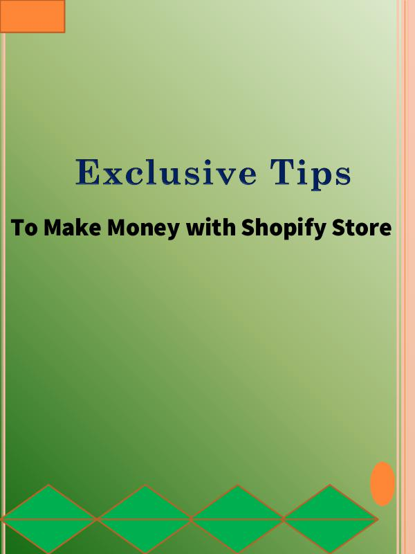 Make Money Online With Shopify Store in 2019 Make Money With Shopify
