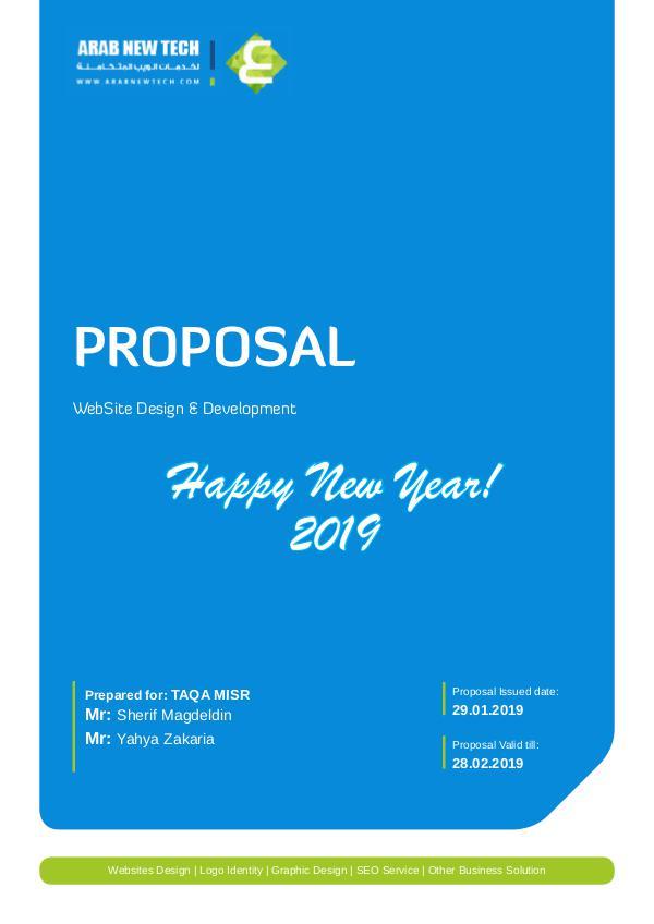 My first Publication WebSite Proposal-TAQA MISR