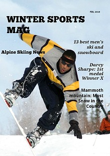 Winter Sports Mag