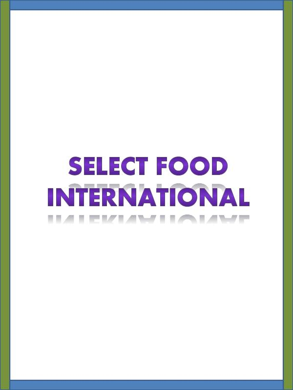 Fresh foods supplier Select Food International