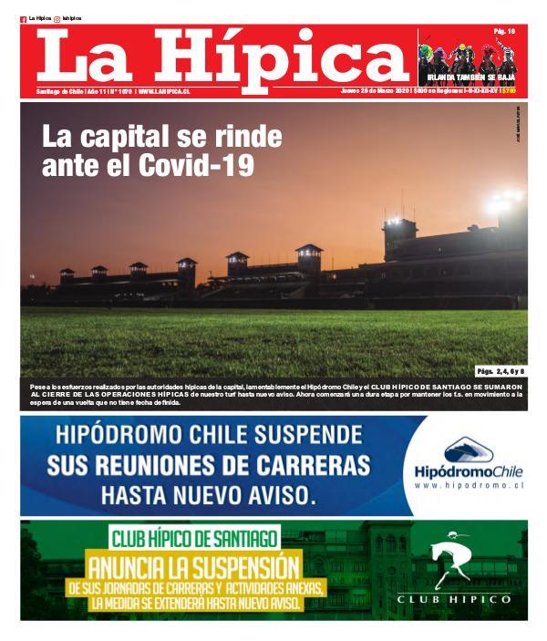 Diario La Hípica Edición 1070