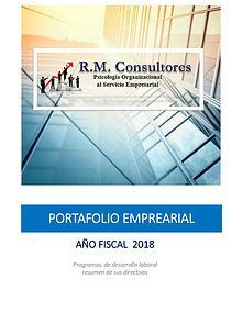 RM Consultores - Portafolio Empresarial