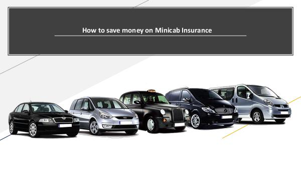 How to save money on Minicab Insurance