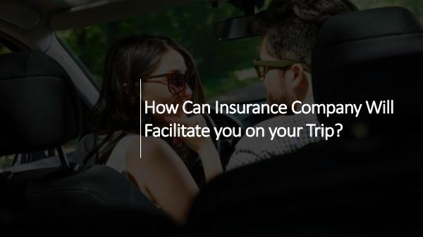 How Can Insurance Company Will Facilitate you on y
