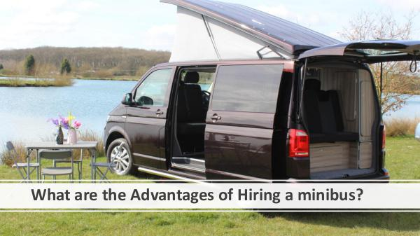 What are the Advantages of Hiring a minibus