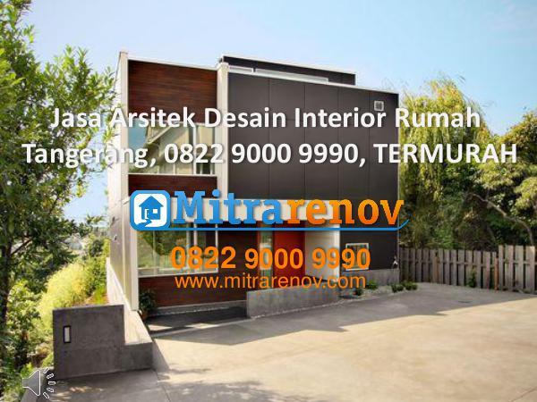 Jasa Arsitek Desain Interior Rumah Tangerang, 0822