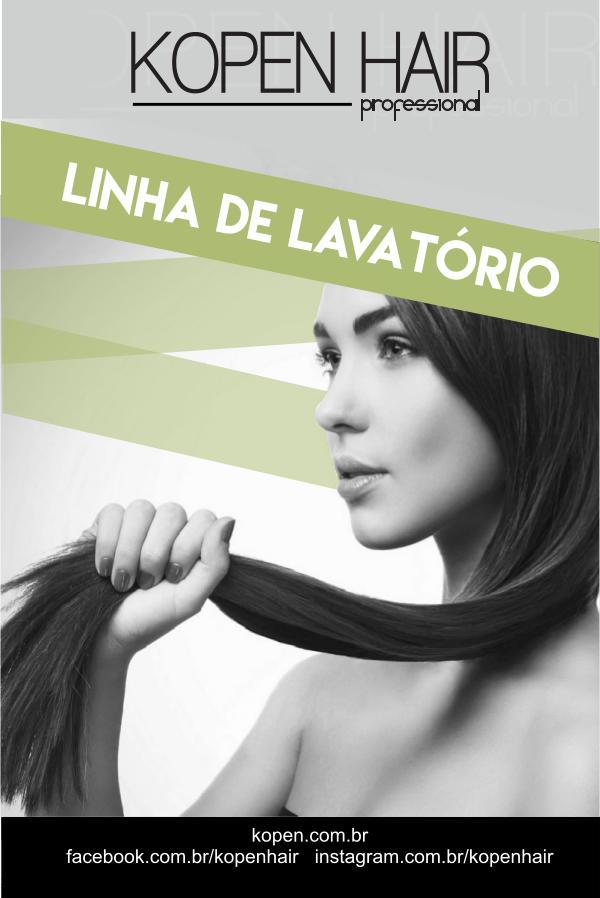 Linha de Finalização CATALOGO LINHA DE LAVATORIO