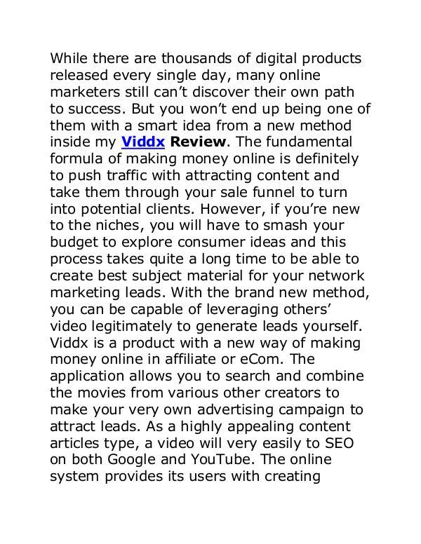 Viddx Review Viddx Review