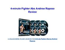 4 Minute Fighter Abs Andrew Raposo