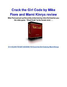 Crack the Girl Code Marni Kinrys review